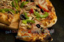 پیتزای مخصوص رستوران لمزی
