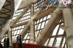 برج میلاد - فضای داخلی طبقه زیرین سکوی دید باز